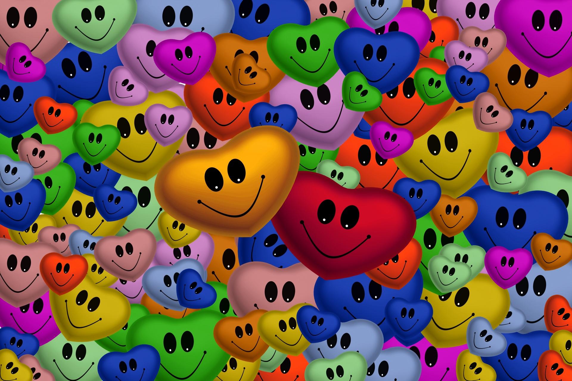 رموز تعبيرية للقلب بألوان مختلفة