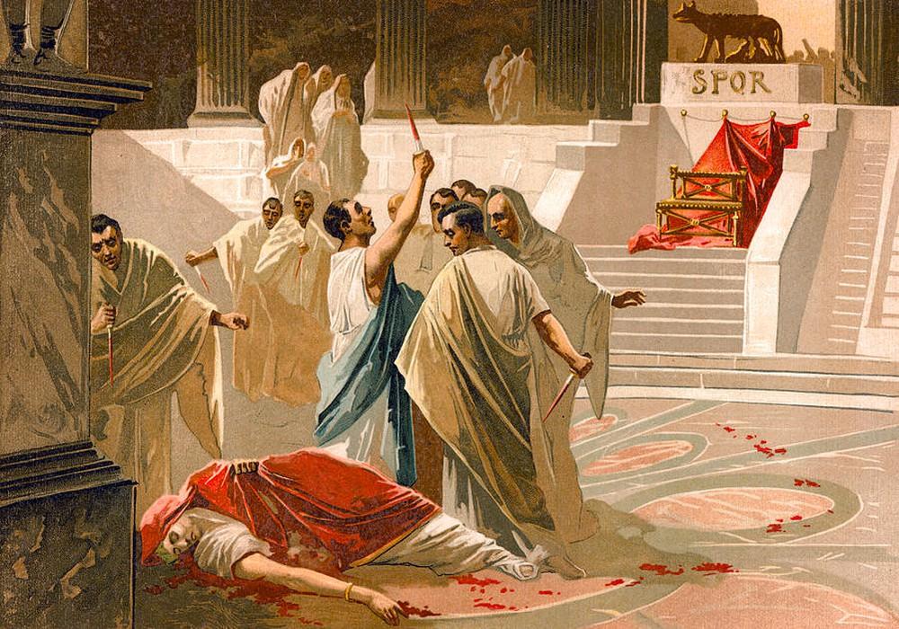 مقتل يوليوس قيصر