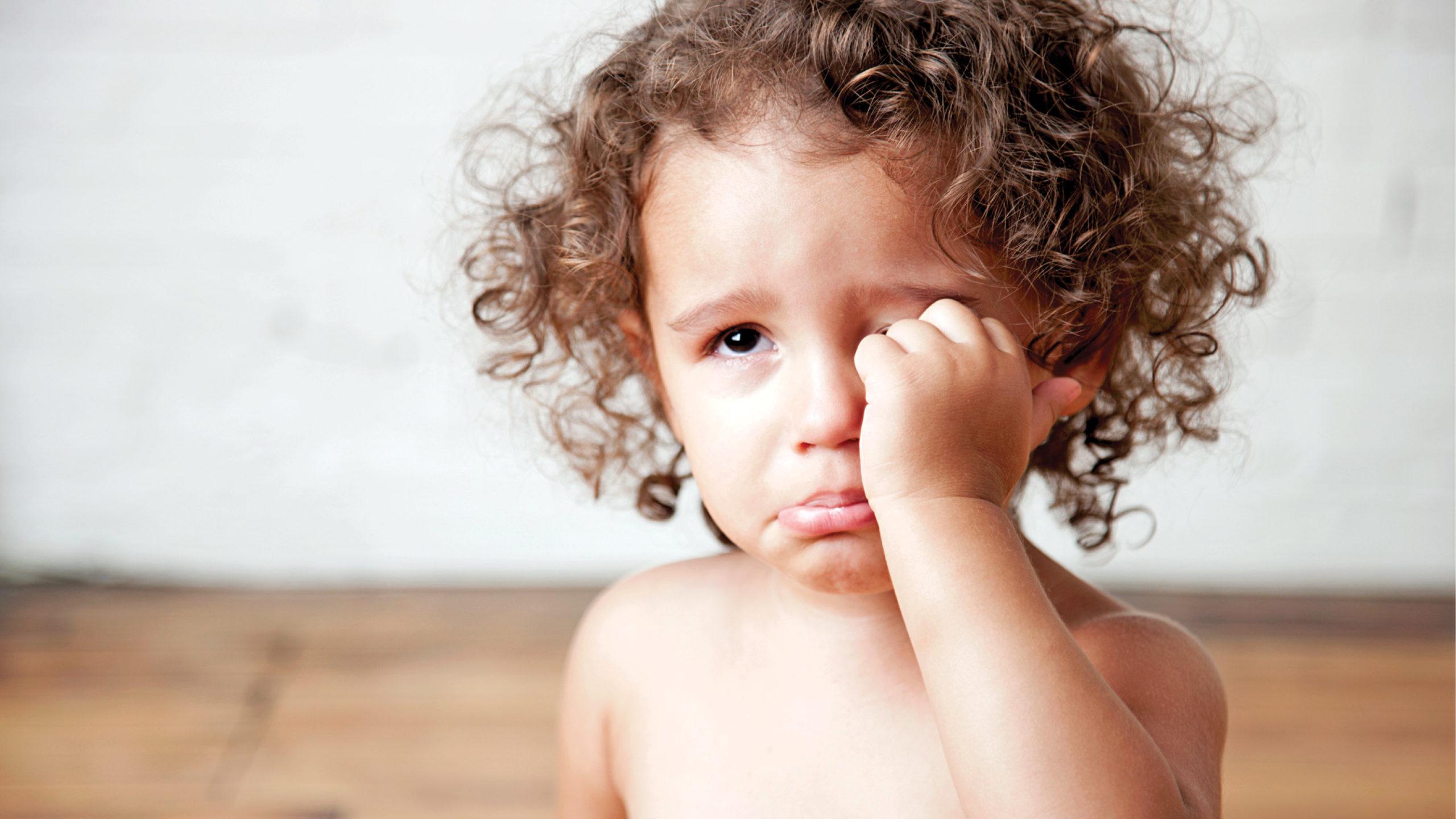 منع البكاء عند الاطفال