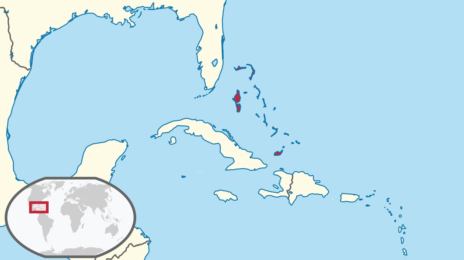 الموقع الجغرافي لجزيرة ناساو