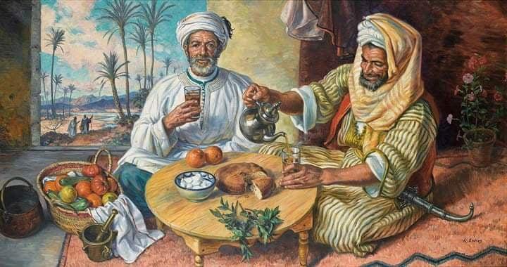 الشاي دخل إلى الجزائر منذ عهد العثمانيين ، مصدر الصورة ( مواقع التواصل)