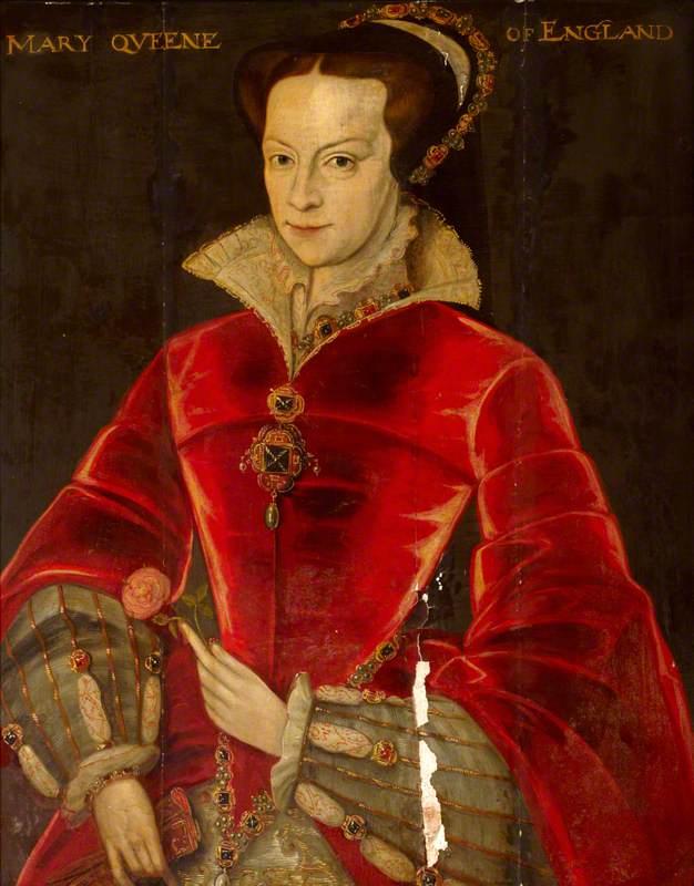 الملكة ماري الأولى وريثة عرش إنجلترا