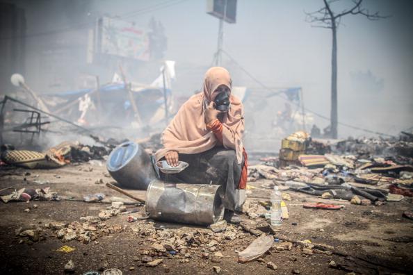 المعتصمين رابعة المجازر