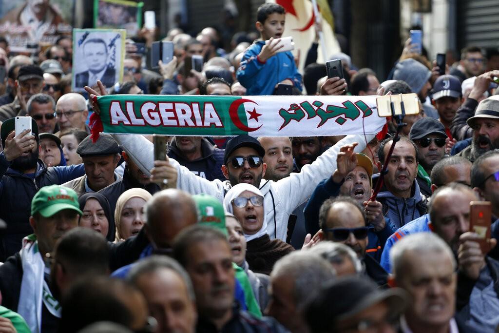 الجزائر الجديدة تتعرض للمؤامرة حسب السلطة