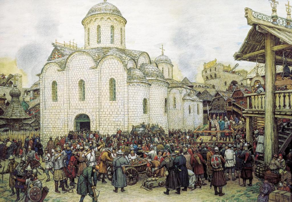 نهب موسكو.. خدعة الشعوب التركية التي لم ينسَها الروس أبدًا