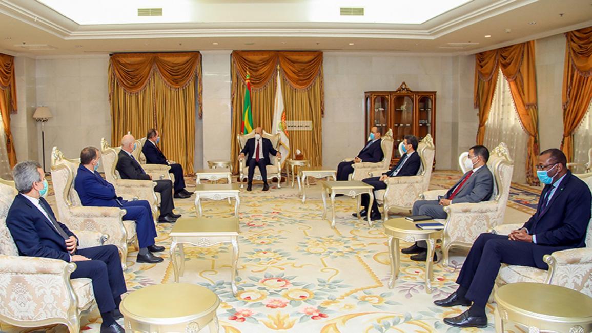 زيارة وزير الصحة الجزائري عبد الرحمن بن بوزيد إلى موريتانيا بأمرٍ من الرئيس الجزائري عبد المجيد تبون في يناير 2021