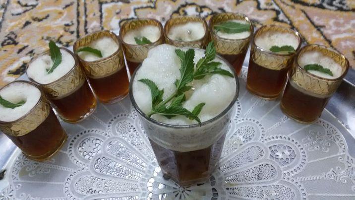 النعناع ؛ أبرز مكونات الشاي الصحراوي الجزائري؛ مصدر الصورة (ساسة بوست)