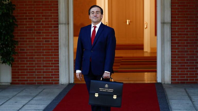وزير الخارجية الإسباني خوسيه مانويل ألباريس