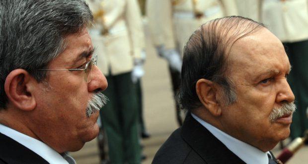 بوتفليقة مع أحمد أويحيى سنة 2006