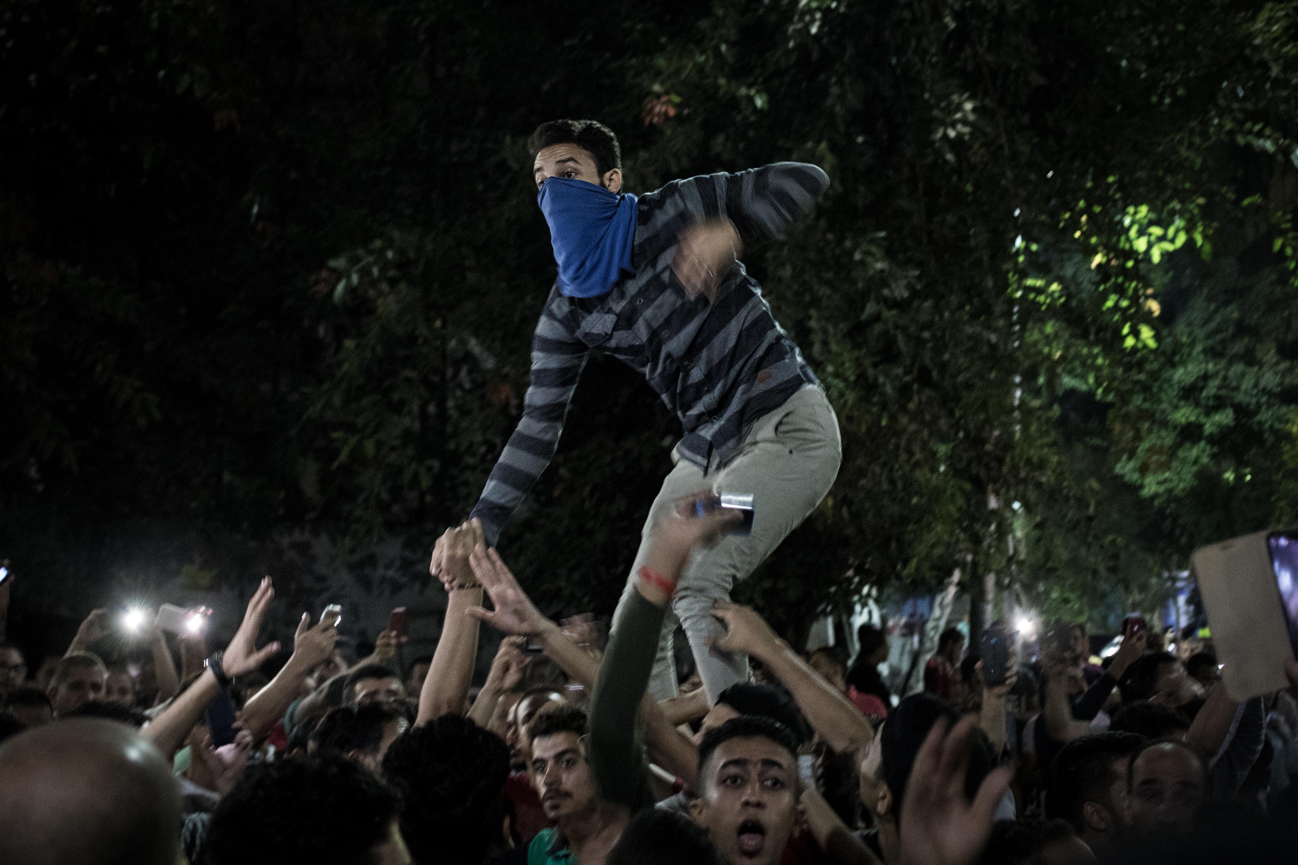 تظاهرات القاهرة - سبتمبر 2019