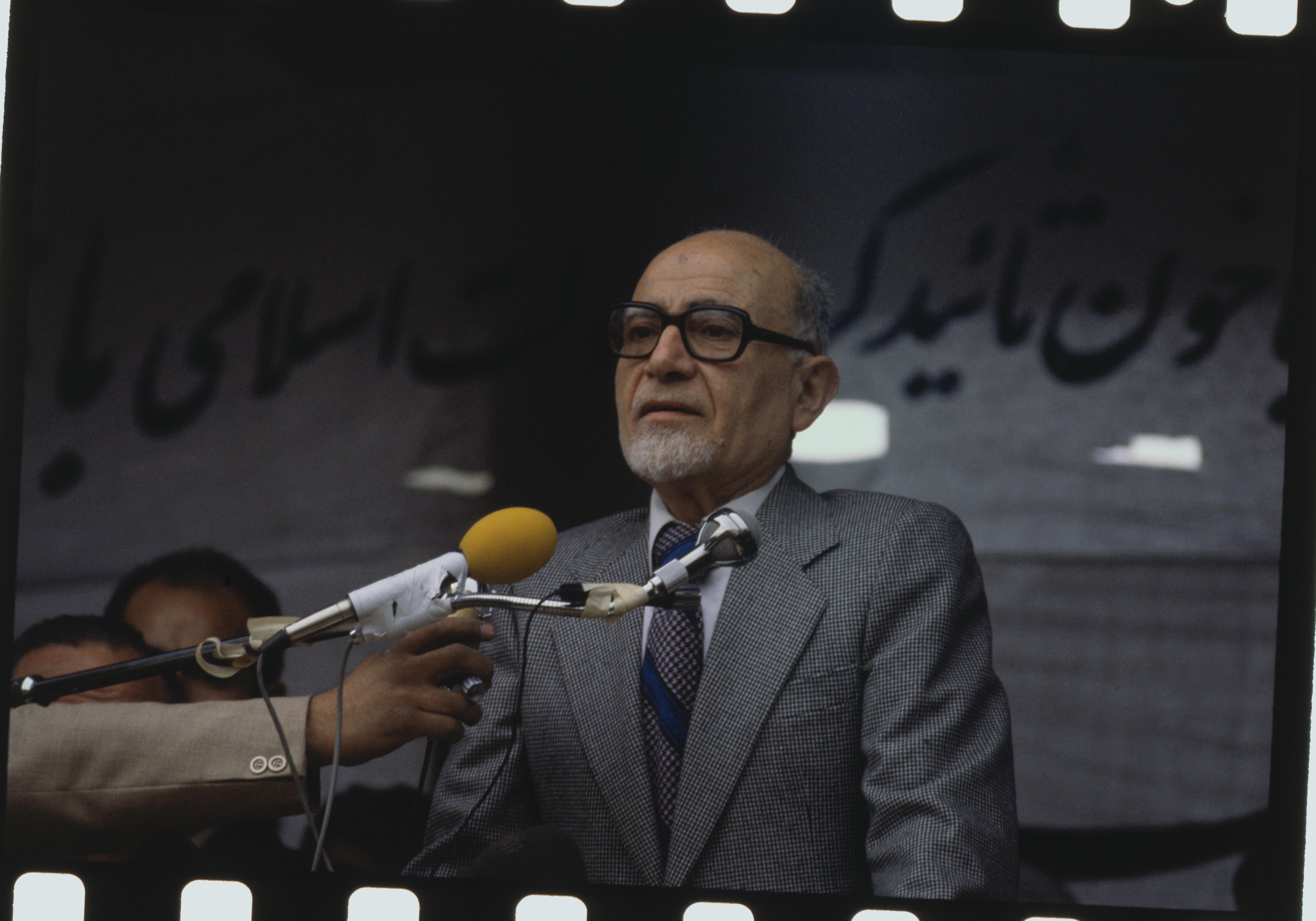 مهدي بازرغان مؤسس حركة الحرية في إيران