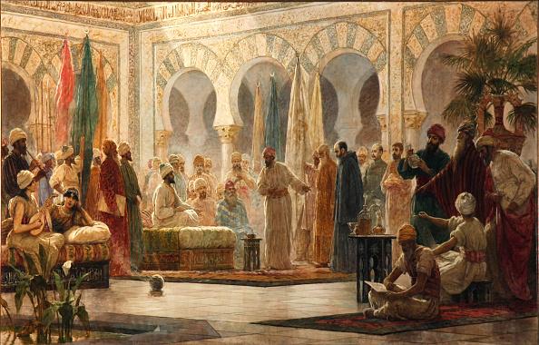 ابن شبروط في بلاط الناصر