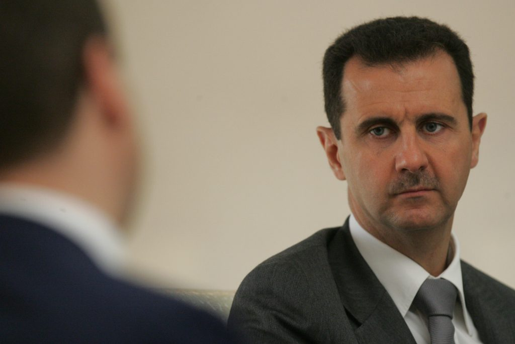 بشار الأسد رئيس نظام السوري